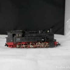Comboios Escala: LOCOMOTORA VAPOR DE LA DB ESCALA N DE FLEISCHMANN. Lote 233426430