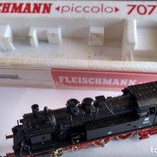 Trenes Escala: FLEISCHMANN N LOCOMOTORA VAPOR REF 7078,PUESTA A PUNTO ,EN CAJA ORIGINAL. VÁLIDO IBERTREN 2N. Lote 241423050