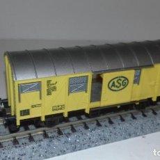 Trenes Escala: FLEISCHMANN N CERRADO PUERTAS CORREDERAS ASG -- L48-210 (CON COMPRA DE 5 LOTES O MAS, ENVÍO GRATIS). Lote 249046315