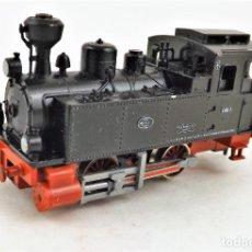Trenes Escala: FLEISCHMANN PICCOLO 7000 LOCOMOTORA VAPOR ESCALA N DC ANALOG. Lote 250153150