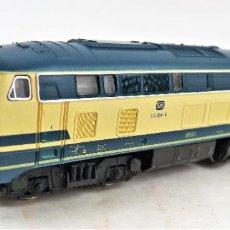 Trenes Escala: FLEISCHMANN PICCOLO 7233 DIESEL BR 210ESCALA N DC ANALOG. Lote 250153570
