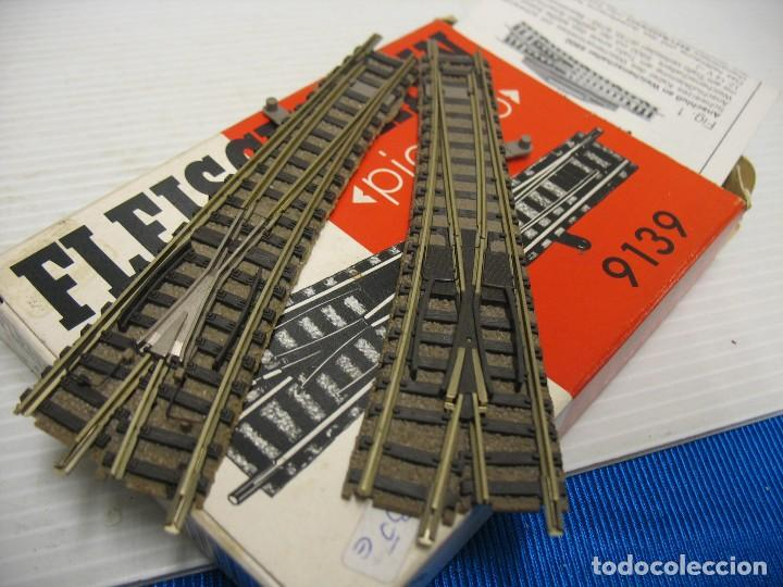 DESVIOS DE ESCALA N (Juguetes - Trenes a Escala N - Fleischmann N)