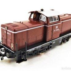 Trenes Escala: FLEISCHMANN PICCOLO 7230 LOCOMOTORA N-7230-BR 212 DIESEL ESCALA N DC ANALOG. Lote 253067145