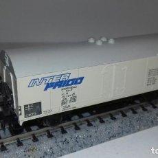 Trenes Escala: FLEISCHMANN N CERRADO FRIGORÍFICO -- L49-015 (CON COMPRA DE 5 LOTES O MAS, ENVÍO GRATIS). Lote 253696550