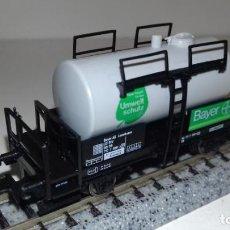 Trenes Escala: FLEISCHMANN N CISTERNA 2 EJES BAYER -- L49-018 (CON COMPRA DE 5 LOTES O MAS, ENVÍO GRATIS). Lote 253697045