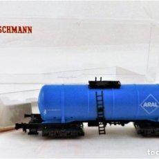 Trenes Escala: FLEISCHMANN N 8483 VAGÓN CISTERNA ARAL. Lote 254177875