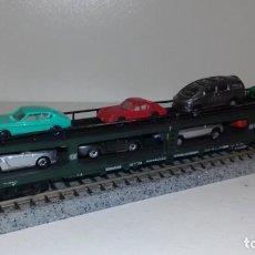 Trenes Escala: FLEISCHMANN N PORTACOCHES 4 EJES -- L49-020 (CON COMPRA DE 5 LOTES O MAS, ENVÍO GRATIS). Lote 254780350