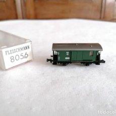 Treni in Scala: FLEISCHMANN N 8056 VAGÓN DE EQUIPAJE DR ALEMÁN PERFECTO ESTADO. Lote 258252540