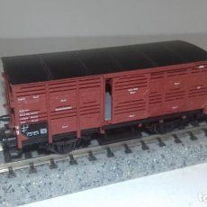 Trenes Escala: FLEISCHMANN N JAULA PUERTAS CORREDERAS -- L49-201 (CON COMPRA DE 5 LOTES O MAS, ENVÍO GRATIS). Lote 262271100