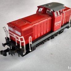 Trenes Escala: FLEISCHMANN N LOCOMOTORA TRACTOR DIESEL, DIGITAL. FUNCIONA. MUY BUEN ESTADO. Lote 263193665