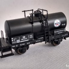 Trenes Escala: FLEISCHMANN N VAGON CISTERNA DE LA DB. Lote 265576199