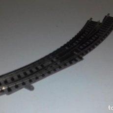 Trenes Escala: FLEISCHMANN N DESVÍO MANUAL IZQ CURVO -- L48-312 (CON COMPRA DE 5 LOTES O MAS, ENVÍO GRATIS). Lote 275137273