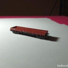 Trains Échelle: VAGÓN BORDE BAJO ESCALA N DE FLEISCHMANN. Lote 275955303