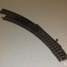 Trenes Escala: FLEISCHMANN N DESVÍO MANUAL CURVO IZQ -- L50-107 (C COMPRA DE 5 LOTES O MAS, ENVÍO GRATIS). Lote 277513373
