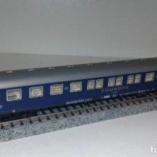 Trenes Escala: FLEISCHMANN N PASAJEROS 2ª TOUROPA -- L50-007 (C COMPRA DE 5 LOTES O MAS, ENVÍO GRATIS). Lote 277755528