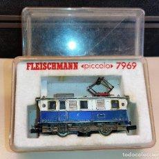 Trenes Escala: LOMOTORA FLEISCHMANN PICCOLO 7969 LIMPIAVIAS. Lote 288071348