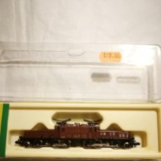 Trenes Escala: LOCOMOTORA MINITRIX 12956 COCODRILO. Lote 290188113