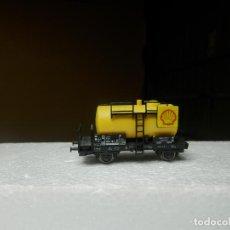 Comboios Escala: VAGÓN CISTERNA ESCALA N DE FLEISCHMANN. Lote 294954223