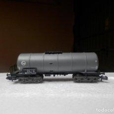 Trenes Escala: VAGÓN CISTERNA ESCALA N DE FLEISCHMANN. Lote 294954773