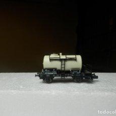 Trenes Escala: VAGÓN CISTERNA ESCALA N DE FLEISCHMANN. Lote 294955083