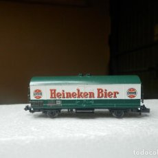 Trenes Escala: VAGÓN CERRADO ESCALA N DE FLEISCHMANN. Lote 294955193