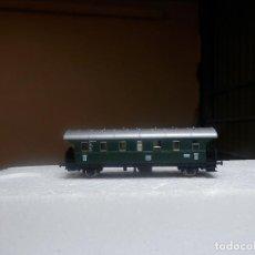 Trenes Escala: VAGÓN PASAJEROS DE LA DB ESCALA N DE FLEISCHMANN. Lote 297095813