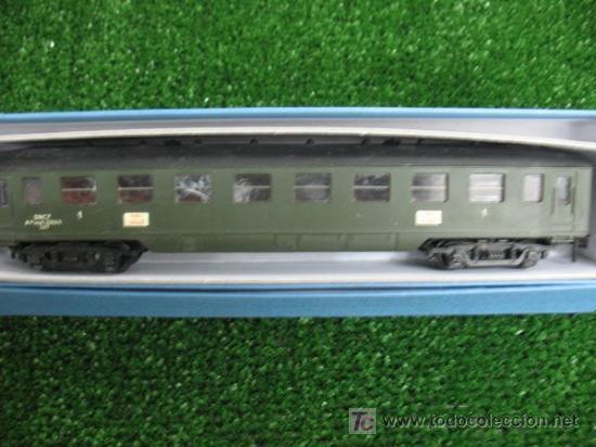Trenes Escala: (HORNBY) VAGON DE VIAJEROS ESCALA H0 PARIS-LILLE - Foto 2 - 18617625