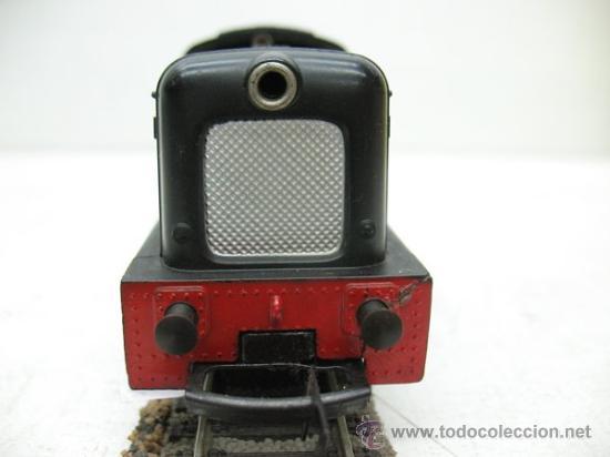 Trenes Escala: HORBY MECANO- LOCOMOTORA DOCK AUTHORITY Nº3-CORRIENTE CONTINUA-ESCALA H0- - Foto 3 - 29329132