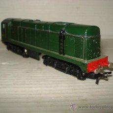 Trenes Escala: ANTIGUA LOCOMOTORA DIESEL HORNBY ESCALA *H0* (1/87) MADE IN INGLAND . 1960-70S . Lote 33000460