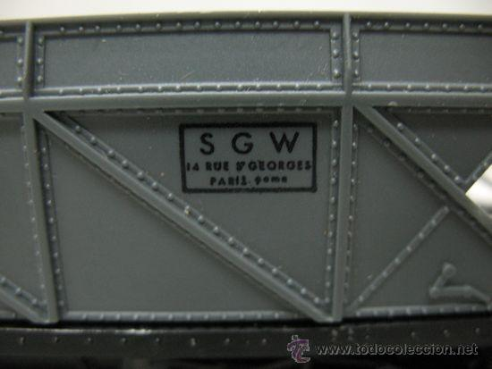 Trenes Escala: Hornby Meccano - Tolva de color gris SGW Made in France - Escala H0 - Foto 4 - 33331181