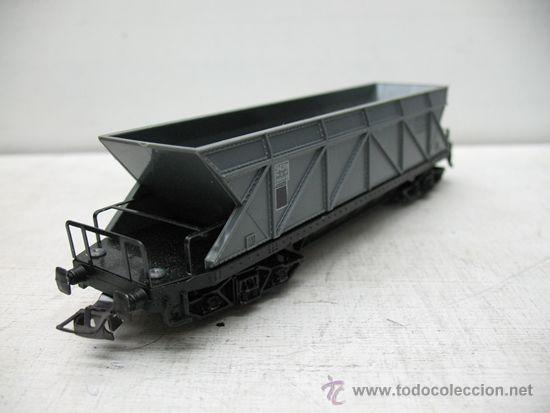 Trenes Escala: Hornby Meccano - Tolva de color gris SGW Made in France - Escala H0 - Foto 5 - 33331181