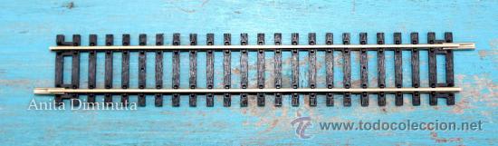 ANTIGUA VIA DE TREN HORNBY H0 - 18 CM - RECTA - (Juguetes - Trenes Escala H0 - Hornby H0)
