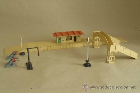 Trenes Escala: Estación y Accesorios Hornby, Meccano y Triang. Escala HO. - Foto 14 - 35694869