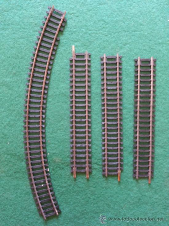 LOTE DE VIAS HORNBY (Juguetes - Trenes Escala H0 - Hornby H0)