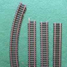 Trenes Escala: LOTE DE VIAS HORNBY. Lote 35791753