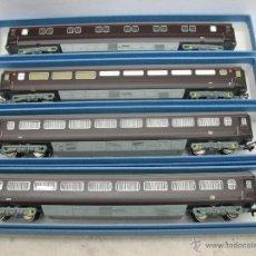 Trenes Escala: HORNBY - LOTE DE 4 VAGONES 2917 2915 2903 2904 - ESCALA H0. Lote 39749360