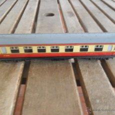 Trenes Escala: VAGON MODELO M 4183 HORNBY BUBLO MECCANO DE PASAJEROS EN METAL. Lote 41793740