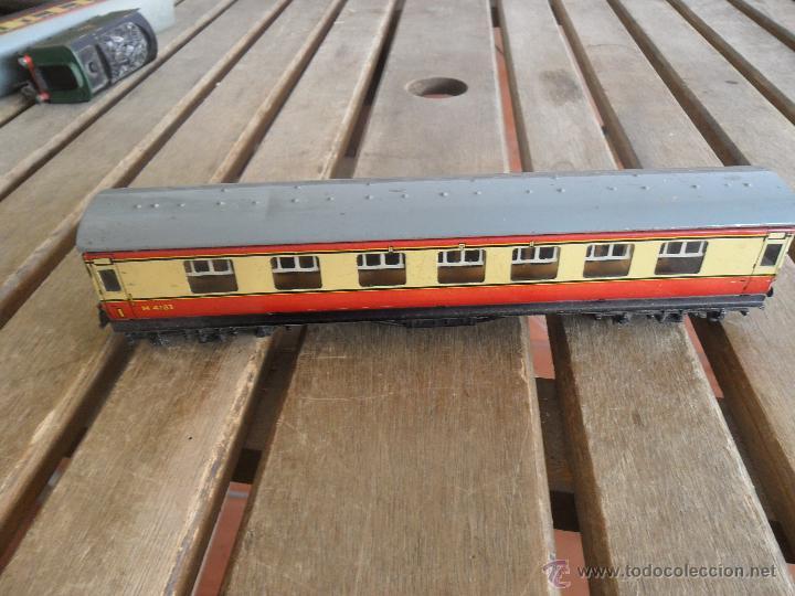 Trenes Escala: VAGON MODELO M 4183 HORNBY BUBLO MECCANO DE PASAJEROS EN METAL - Foto 3 - 41793740