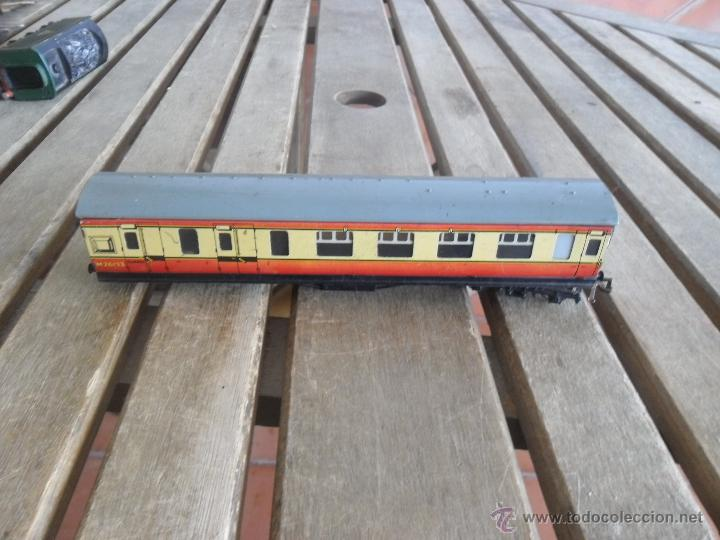 VAGON MODELO M 4183 HORNBY BUBLO MECCANO DE PASAJEROS EN METAL (Juguetes - Trenes Escala H0 - Hornby H0)