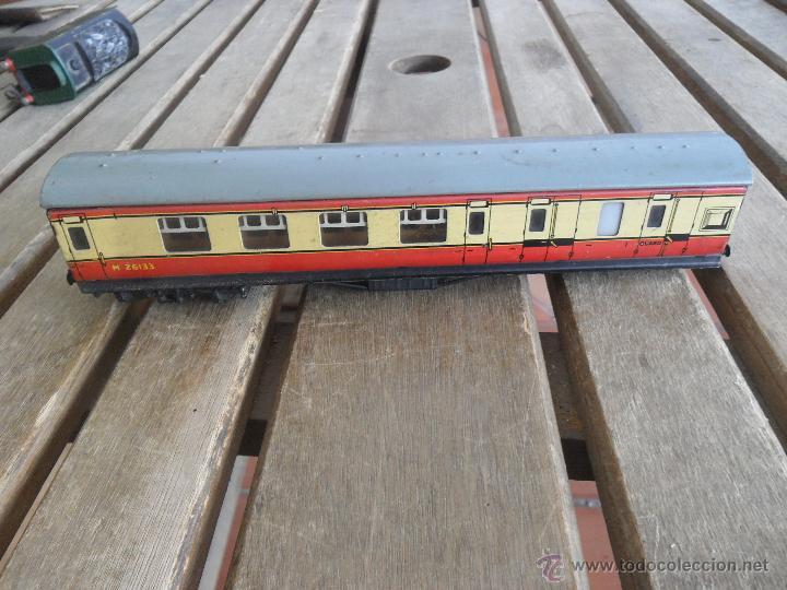 Trenes Escala: VAGON MODELO M 4183 HORNBY BUBLO MECCANO DE PASAJEROS EN METAL - Foto 3 - 41793871