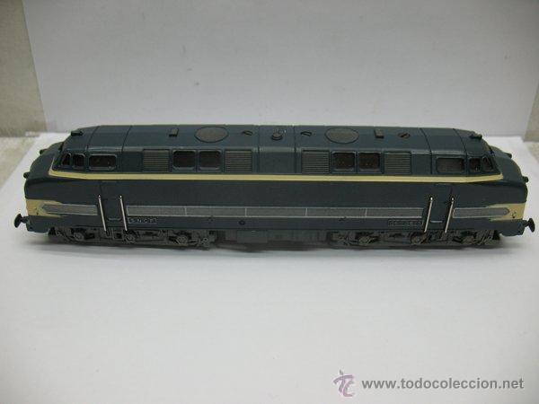 Trenes Escala: Hornby Meccano,Locomotora Diesel 060 DB-5 de la S.N.C.F Escala Ho,Dc - Foto 4 - 46086125