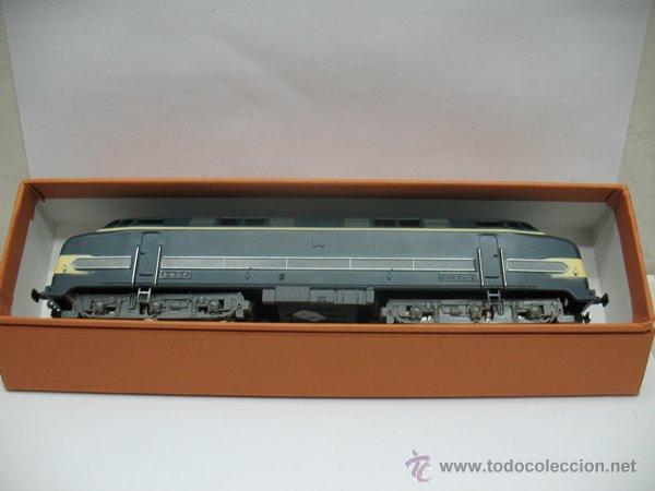 Trenes Escala: Hornby Meccano,Locomotora Diesel 060 DB-5 de la S.N.C.F Escala Ho,Dc - Foto 9 - 46086125