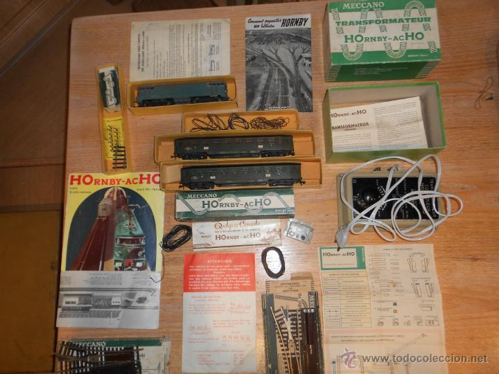 ANTIGUO TREN HORNBY HO (Juguetes - Trenes Escala H0 - Hornby H0)