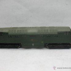 Trenes Escala: HORNBY - ANTIGUA LOCOMOTORA DIESEL BRITISH RAILWAYS CON CORRIENTE CONTINUA - ESCALA H0. Lote 52362902