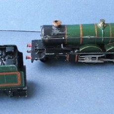 Trenes Escala: LOCOMOTORA HORNBY DUBLO CARDIFF CASTLE 4075 CON TENDER (METALICO, 16 Y 9,5CM APROX). Lote 67415301