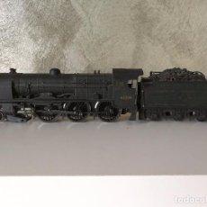 Trenes Escala: ANTIGUA LOCOMOTORA DE VAPOR CON TENDER HORNBY HO. Lote 71026209
