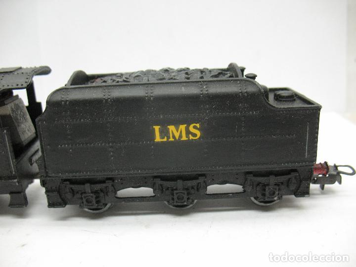 Trenes Escala: Hornby Dublo Meccano - Locomotora de vapor con tender 48158 LMS corriente continua - Escala H0 - Foto 5 - 81303392