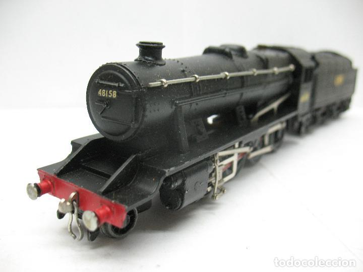 Trenes Escala: Hornby Dublo Meccano - Locomotora de vapor con tender 48158 LMS corriente continua - Escala H0 - Foto 6 - 81303392