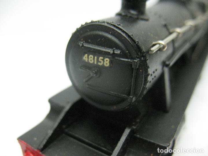 Trenes Escala: Hornby Dublo Meccano - Locomotora de vapor con tender 48158 LMS corriente continua - Escala H0 - Foto 7 - 81303392