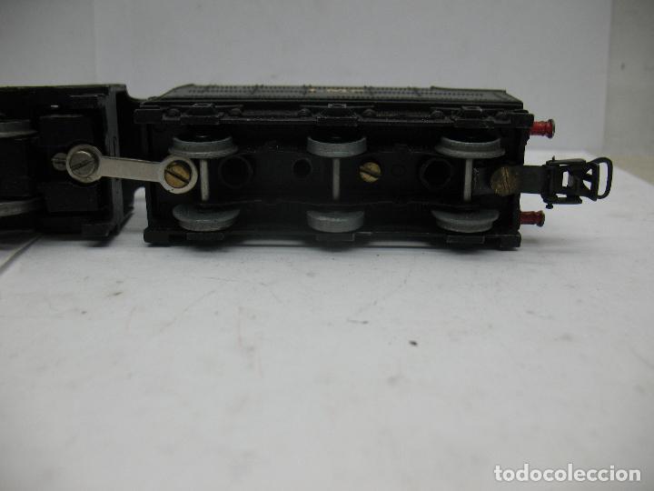 Trenes Escala: Hornby Dublo Meccano - Locomotora de vapor con tender 48158 LMS corriente continua - Escala H0 - Foto 10 - 81303392